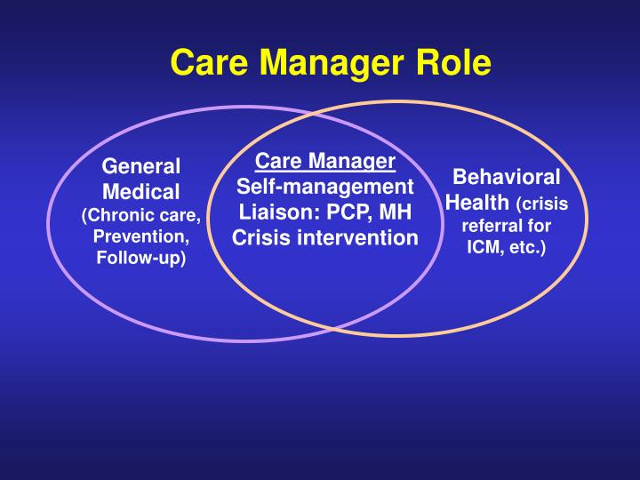 Care Manager Role