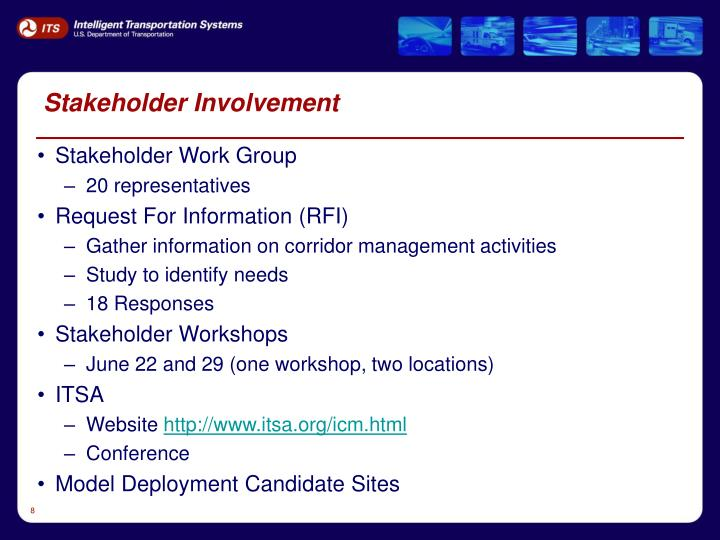 Stakeholder Involvement