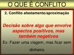 o que conflito2