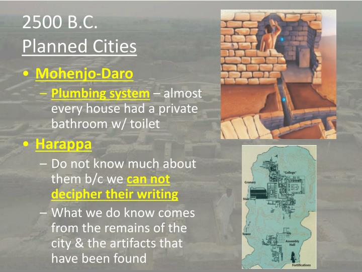2500 B.C.
