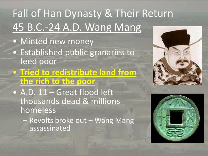Fall of Han Dynasty & Their Return