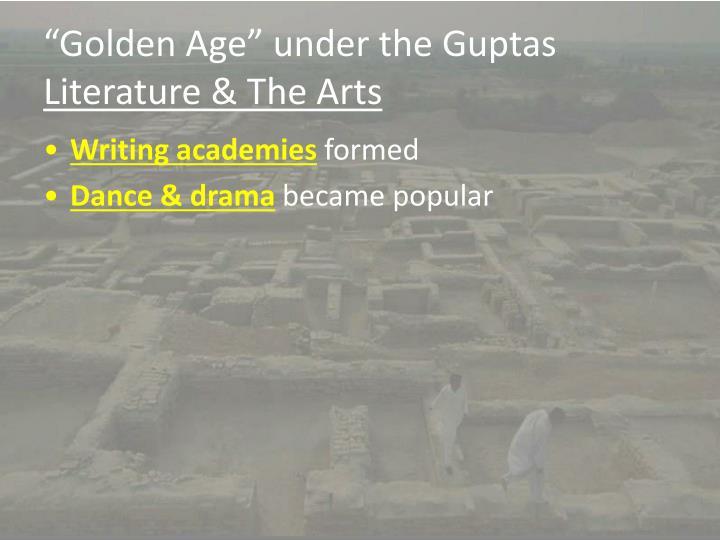 """""""Golden Age"""" under the Guptas"""