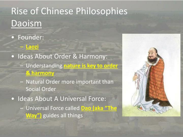 Rise of Chinese Philosophies