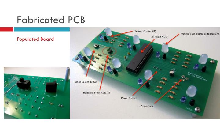 Fabricated PCB