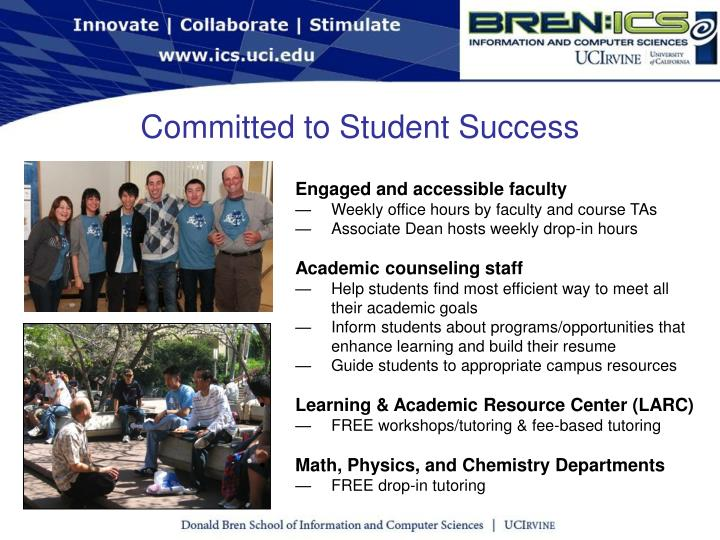 Committed to Student Success