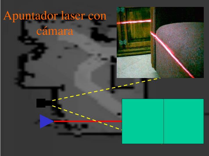 Apuntador laser con cámara