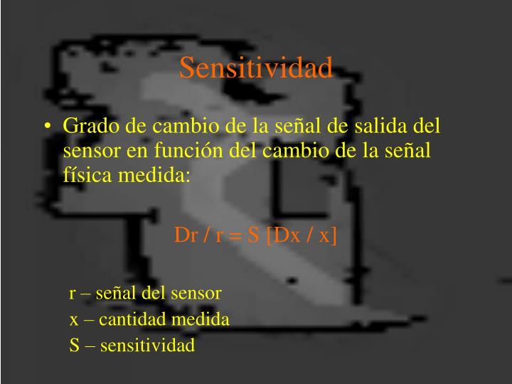 Sensitividad