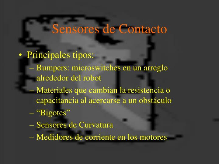 Sensores de Contacto