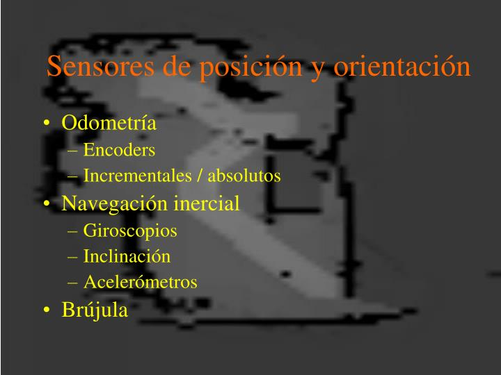Sensores de posición y orientación