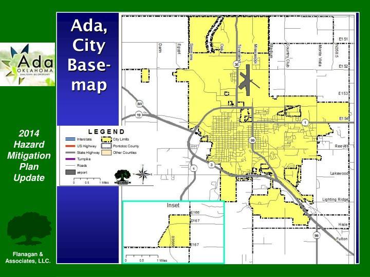 Ada, City Base-map