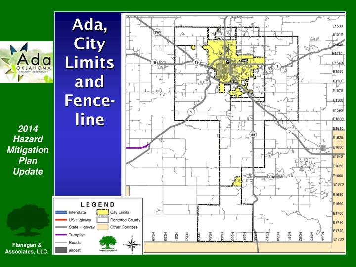 Ada, City Limits and Fence-line