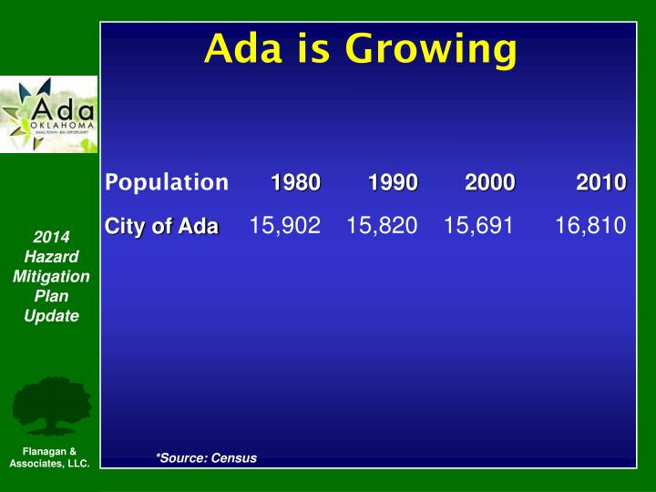Ada is Growing