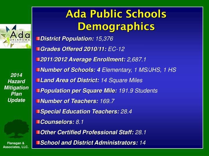 Ada Public Schools Demographics