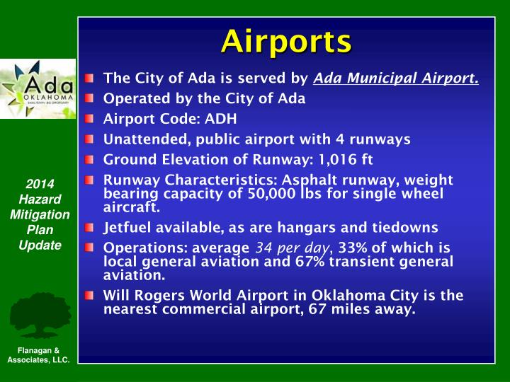 The City of Ada is served by