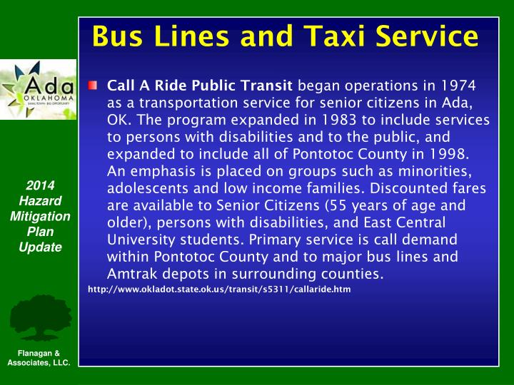 Call A Ride Public Transit