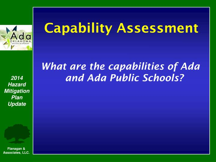 What are the capabilities of Ada and Ada Public Schools?