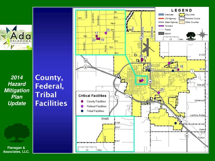 County, Federal, Tribal Facilities