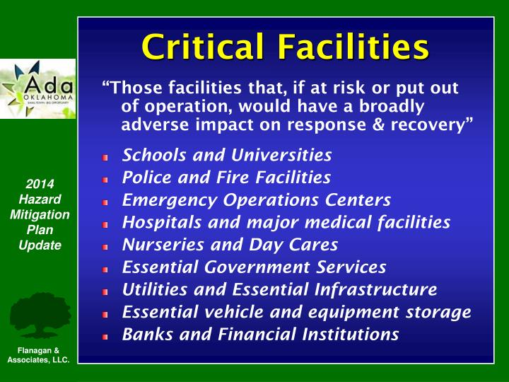 Critical Facilities