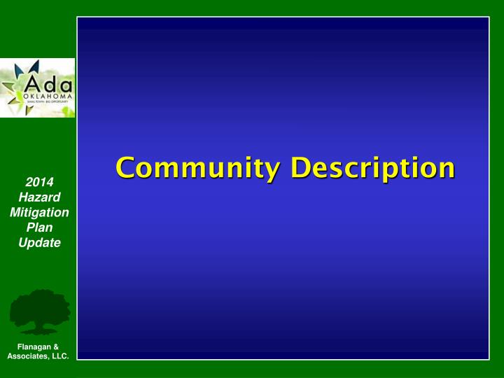 Community Description