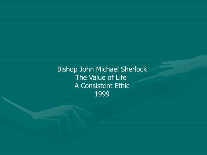 Bishop John Michael Sherlock