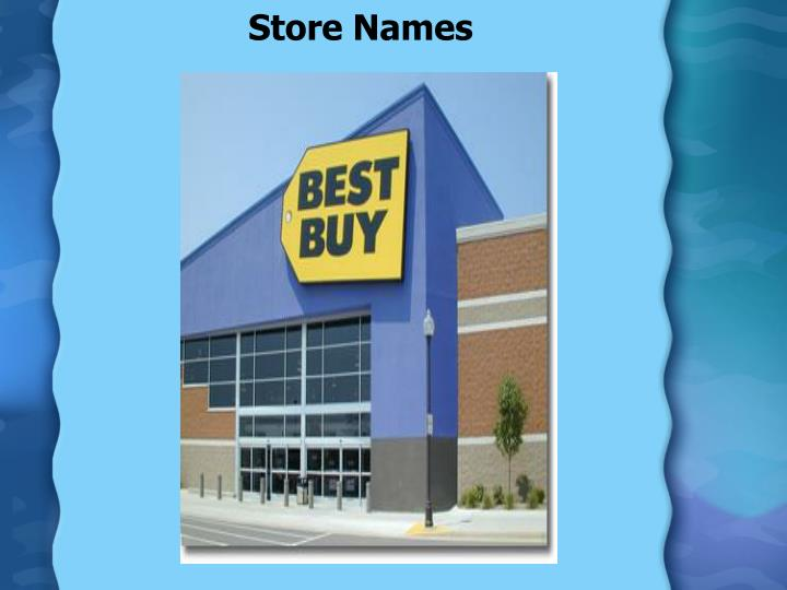 Store Names