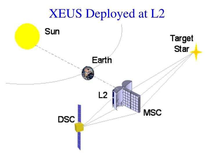 XEUS Deployed at L2