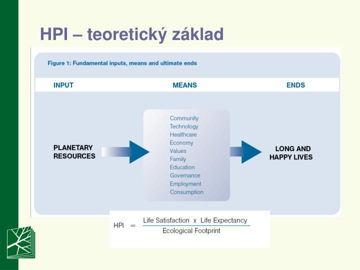 HPI – teoretický základ