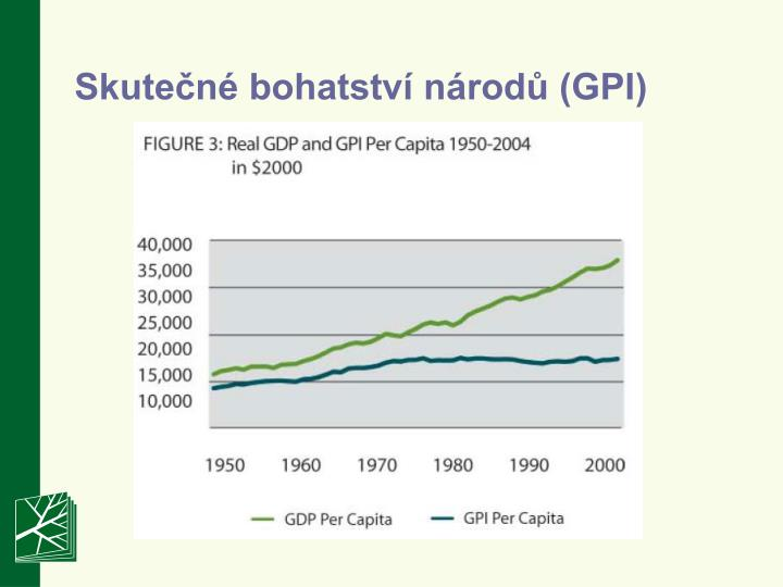 Skutečné bohatství národů (GPI)