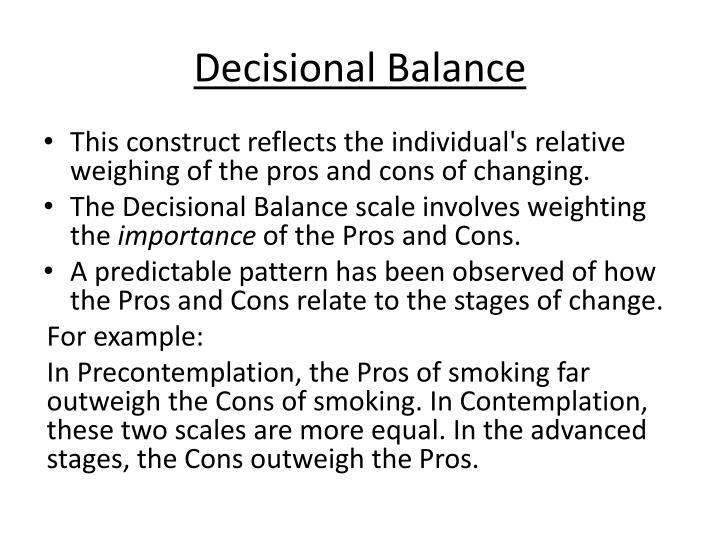 Decisional
