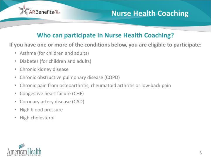 Nurse Health Coaching