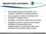 agreed upon principles1