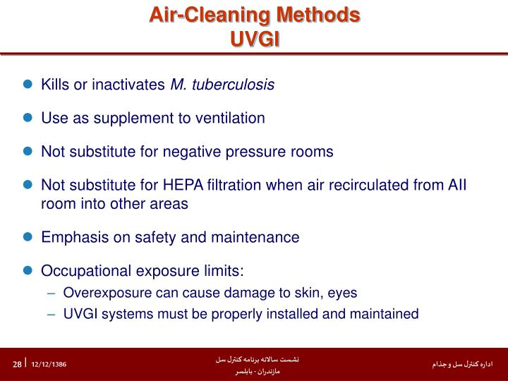 Air-Cleaning Methods