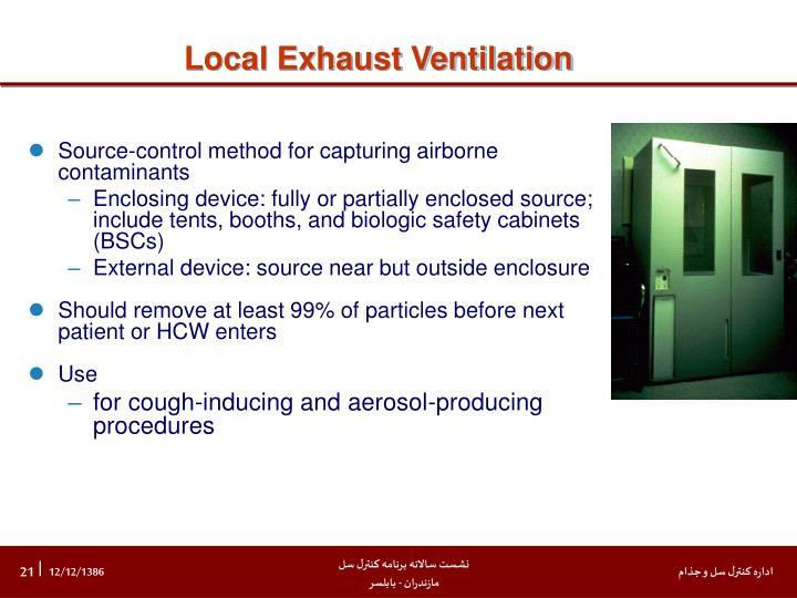 Local Exhaust Ventilation