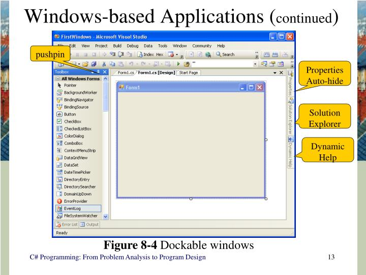 Windows-based Applications (