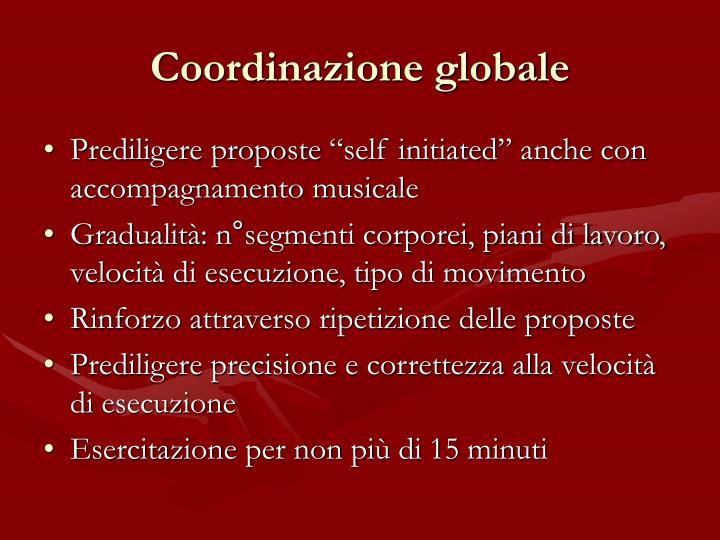 Coordinazione globale