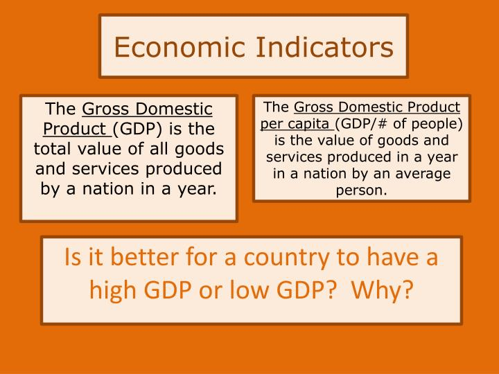 indicators of economic development pdf