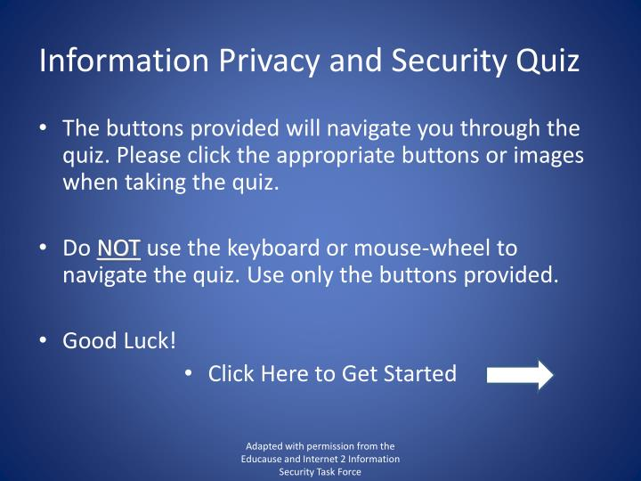 Information privacy and security quiz1