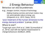 2 energy behaviour2