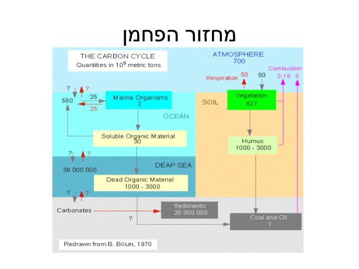 מחזור הפחמן