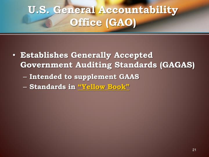 U.S. General Accountability Office (GAO)