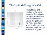 the latitude longitude grid