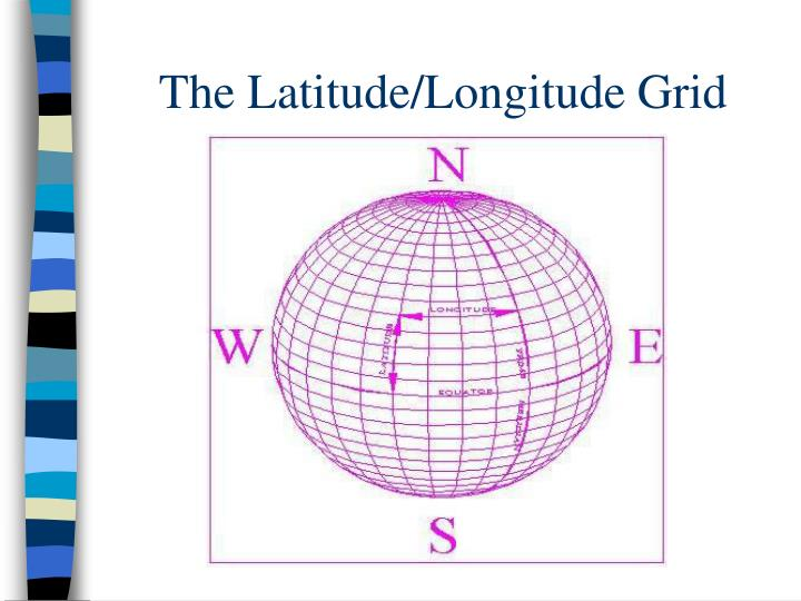 The Latitude/Longitude Grid