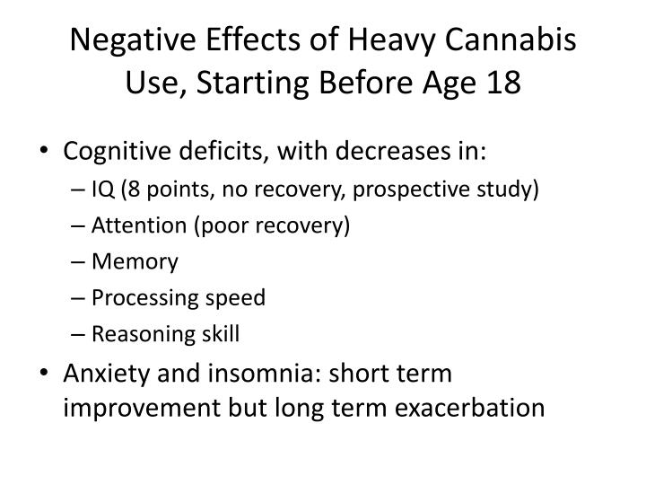 Negative Effects of Heavy C