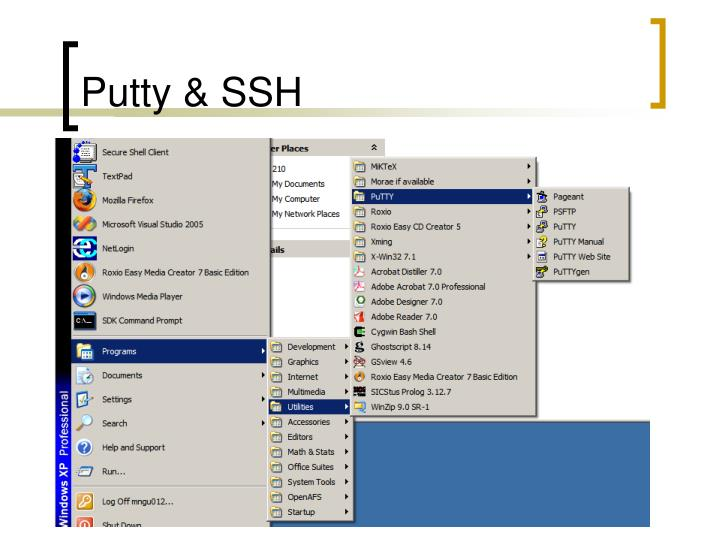 Putty & SSH