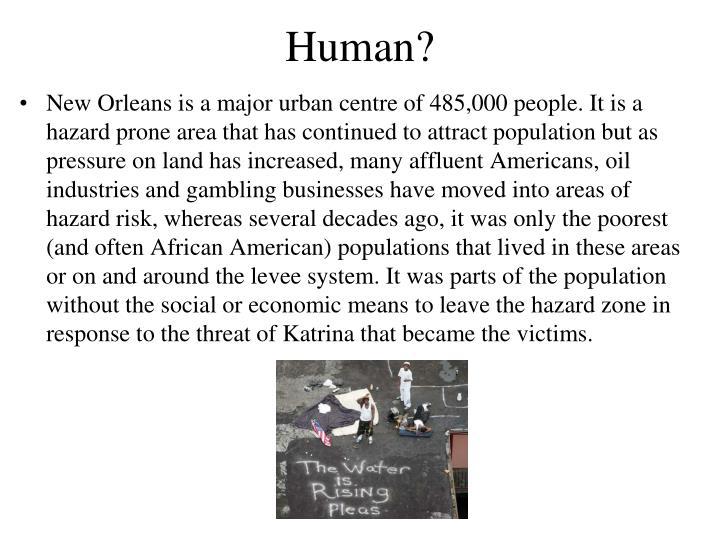 Human?
