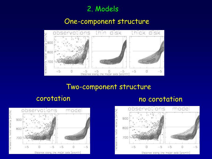 One-component structure