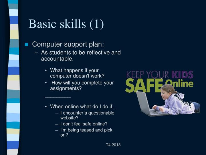 Basic skills (1)