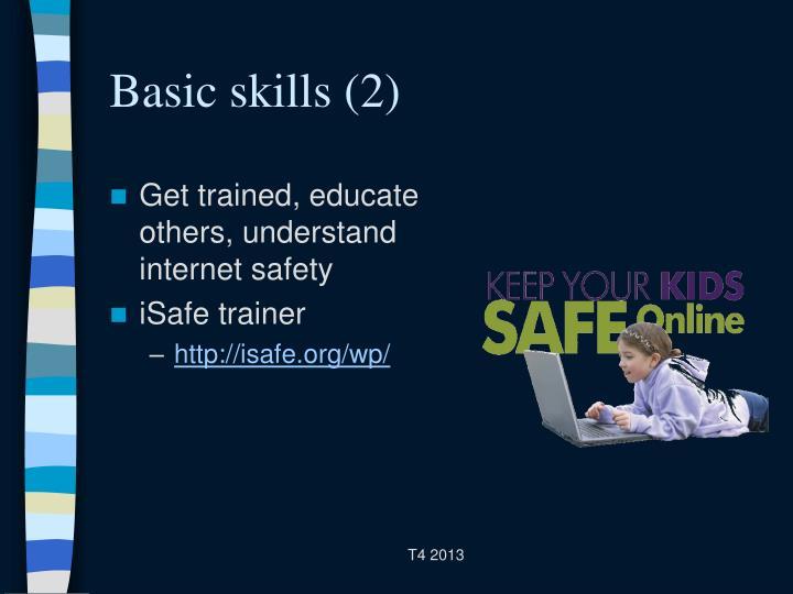 Basic skills (2)