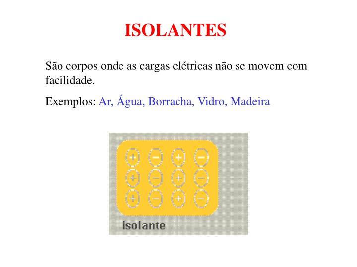 ISOLANTES