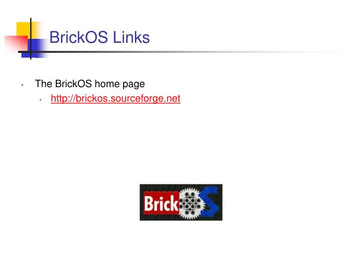 BrickOS Links